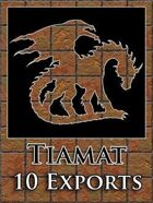 Tiamat 10 Map Exports