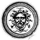 Stock Art Shields: Medusa