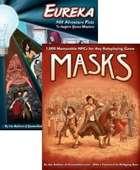 Masks and Eureka: 1,000 NPCs and 501 Plots [BUNDLE]