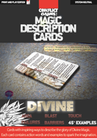Magic Description Cards: DIVINE MAGIC