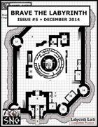 BTL005: Brave the Labyrinth - Issue #5 (PRINT)