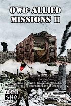 OWB013: OWB: Allied Missions II