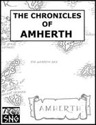 COA01: The Chronicles of Amherth
