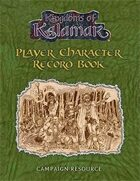 Player Character Record Book