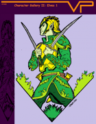 Character Gallery II: Elves 1