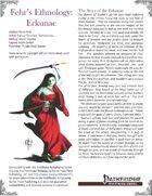 Fehr's Ethnology: Erkunae [PFRPG]