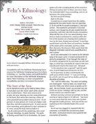 Fehr's Ethnology: Xesa [PFRPG]