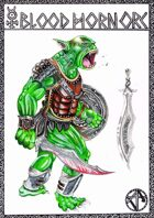 Classic Stock Art: Blood Horn Orc