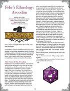 Fehr's Ethnology: Avoodim [PFRPG]