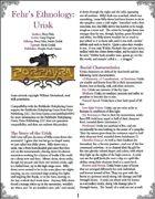 Fehr's Ethnology: Urisk [PFRPG]