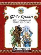 [PFRPG] GM\'s Options: NPCs 1: Barbarians, Bards, and Clerics