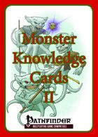 [PFRPG] GM's Aid IX: Monster Knowledge Cards II