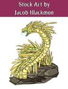 Stock Art: Crystal Serpent