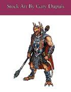 Stock Art: Male Dragonborn