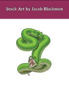 Stock Art: Amphisbaena