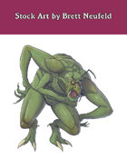 Stock Art: Insectile Troll