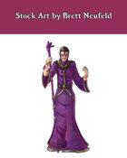 Stock Art: Male Human Crystalmancer