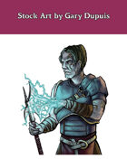 Stock Art: Male Android Spellcaster