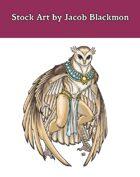 Stock Art: Owl Agathion