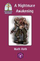 Adventure Avenue: A Nightmare Awakening