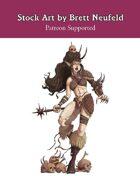 Stock Art: Female Abomination
