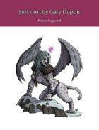 Stock Art: Cursed Sphinx
