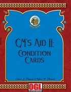GM's Aid II: Condition Cards