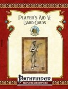[PFRPG] Player's Aid V: Bard Cards