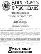 [PFRPG] Strategists & Tacticians Web Enhancement - Tin Man Prestige Class