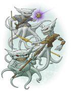 Bestiary II Stock Art: Grindylow