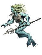 Bestiary II Stock Art: Triton