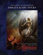 Contagion Second Edition Errata & NPC Folio