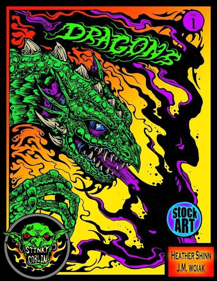 Dragons Stock Art Volume 1