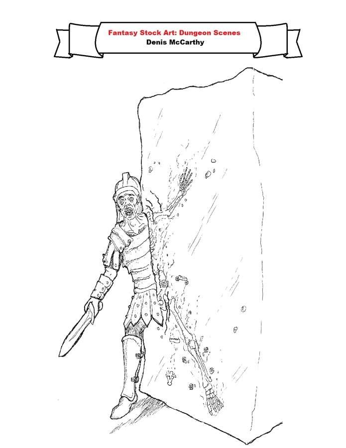 Fantasy Stock Art: Dungeon Scenes