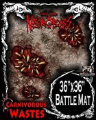 Into the Necrobyss Battle Mat 1: Carnivorous Wastes
