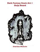 Dark Fantasy Stock Art 1: Ouija Board