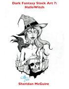 Dark Fantasy Stock Art 7: HalloWitch