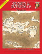 Odysseys & Overlords World Map