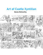 Fantasy Stock Art: Art of Castle Xyntillan