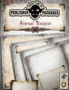 Prof. J.B.'s Publisher Packages - Journal Vampiro