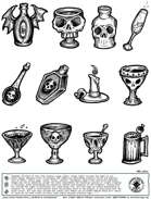 Stinky Goblin Stock Art: Goblets