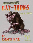 Hideous Creatures: Rat-Things