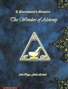 A Necromancer's Grimoire: The Wonders of Alchemy