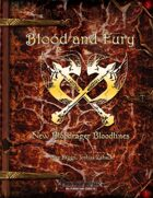Blood and Fury - New Bloodrager Bloodlines