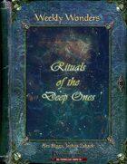 Weekly Wonders - Rituals of the Deep Ones