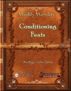 Weekly Wonders - Conditioning Feats