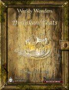 Weekly Wonders - Drunken Feats