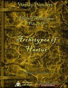 Weekly Wonders - Eldritch Archetypes Volume IV - Archetypes of Hastur