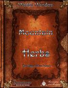 Weekly Wonders - Mountain Herbs
