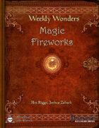 Weekly Wonders - Magic Fireworks